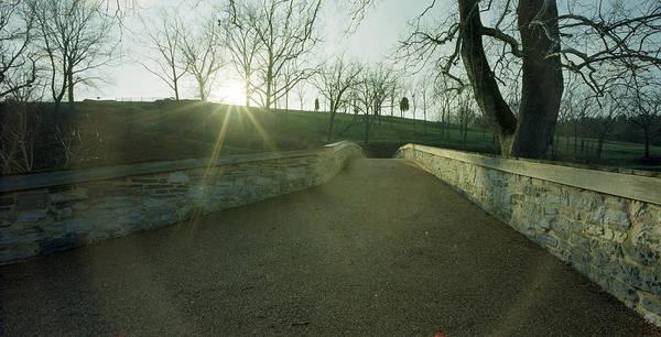 Antietam Photograph - Burnside's Bridge From East by Jan W Faul