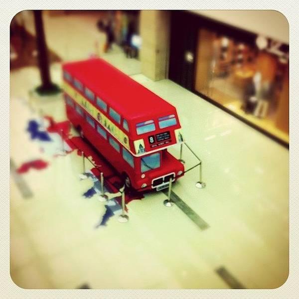 Bus Photograph - #bus #tiltshift by Jason Fang