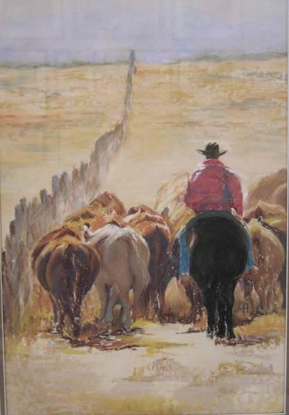 Wall Art - Painting - Butt  Butt  Butt by Judy Wyner