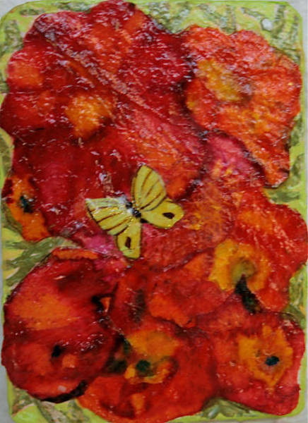 Wall Art - Mixed Media - Butterfly Oh Butterfly by Ruth Edward Anderson