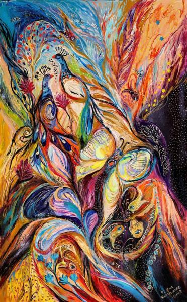 Chupah Wall Art - Painting - Butterfly On Wind ... Visit Www.elenakotliarker.com by Elena Kotliarker