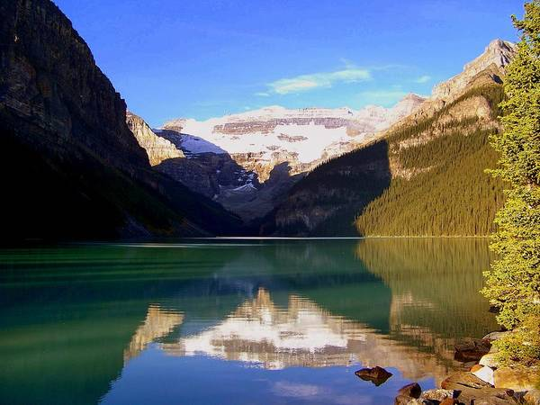 Photograph - Butterfly Phenomenon At Lake Louise by Karen Wiles