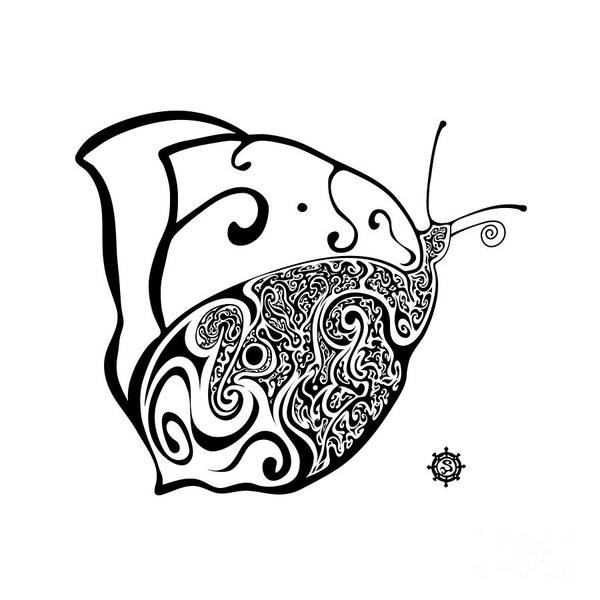 Butterfly Art Print by Santi Goma Rodriguez