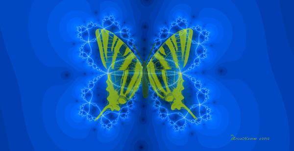Digital Art - Butterfly-swallowtail by Ericamaxine Price