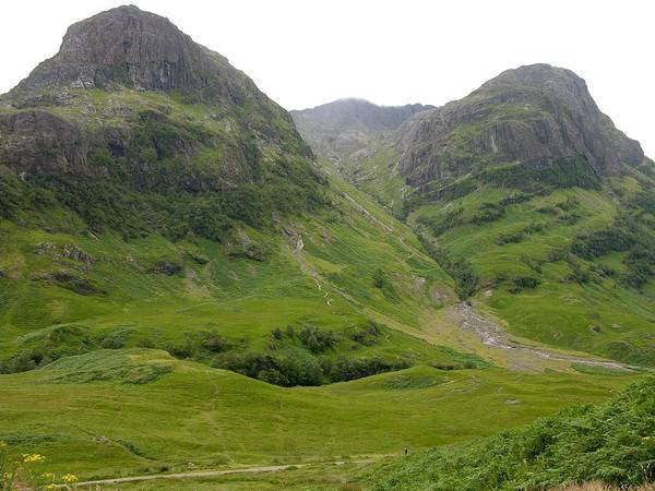 Photograph - Buttresses Of Bidean Nam Bian by Keith Stokes