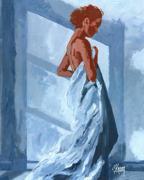 By The Window Art Print