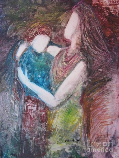 Painting - By Your Side by Deborah Nell
