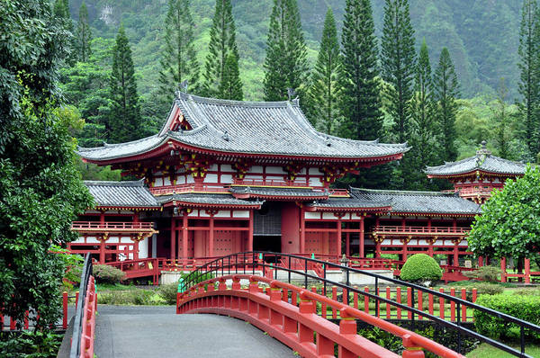 Photograph - Byodo-in Temple Kaneohe by Dan McManus