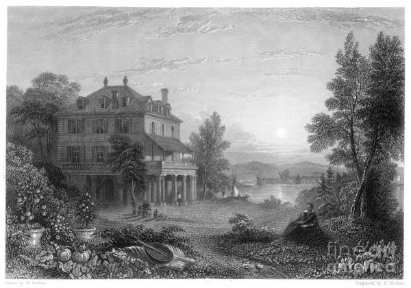Baron Photograph - Byron: Villa Diodati, 1816 by Granger