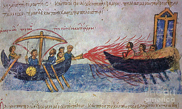 Photograph - Byzantine Sailors  by Photo Researchers