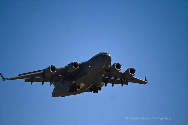 C-17 In Flight Art Print