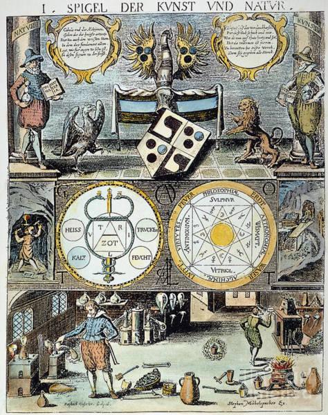 Photograph - Cabala, 1658 by Granger