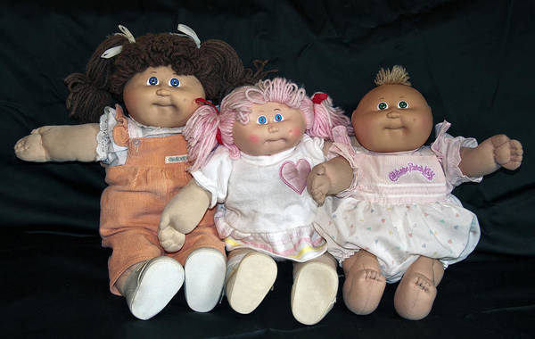 Photograph - Cabbage Patch Kids by Donna Proctor