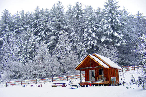 Photograph - Cabin In The Snow by Duane McCullough