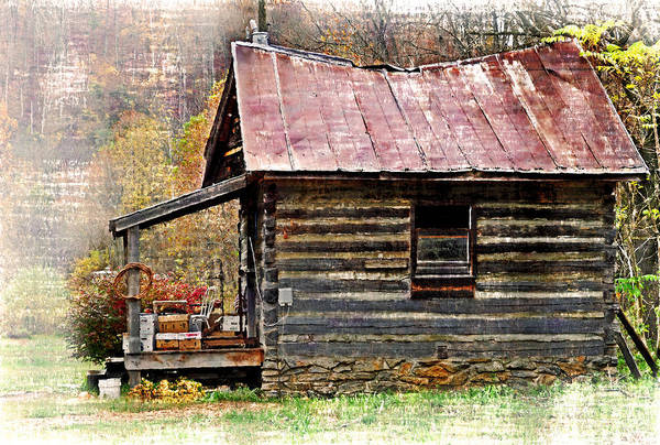 Rockbridge County Photograph - Cabin On The River by Kathy Jennings