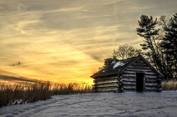 Tramonto Photograph - Cabin Under The Sunset by Gaetano Chieffo