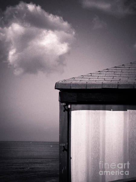 Photograph - Cabin With Cloud by Silvia Ganora