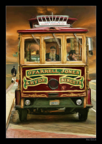 Photograph - Cable Car Ofarrell And Jones by Blake Richards