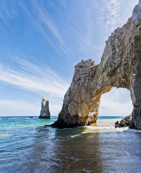 Wall Art - Photograph - Cabo San Lucas Arch by Mike Raabe