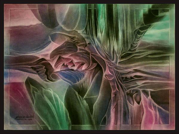 Cactusbudcomp 2010 Art Print
