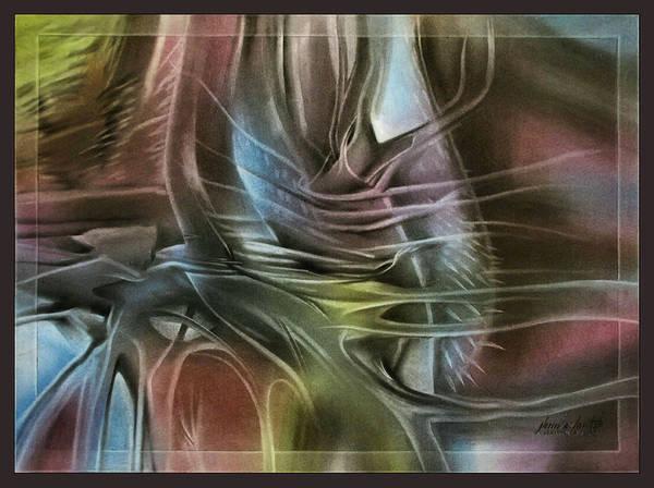 Cactuscompb - 2010 Art Print