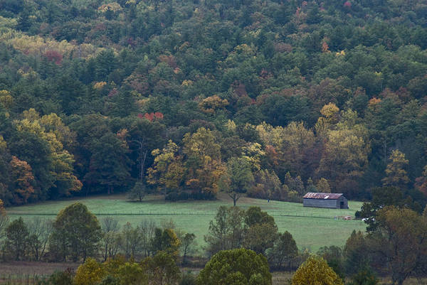 Photograph - Cade's Cove Barn by Rick Hartigan
