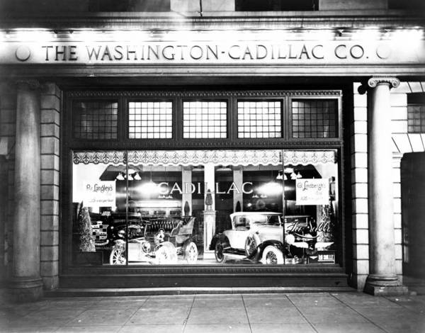 Photograph - Cadillac Storefront, 1927 by Granger