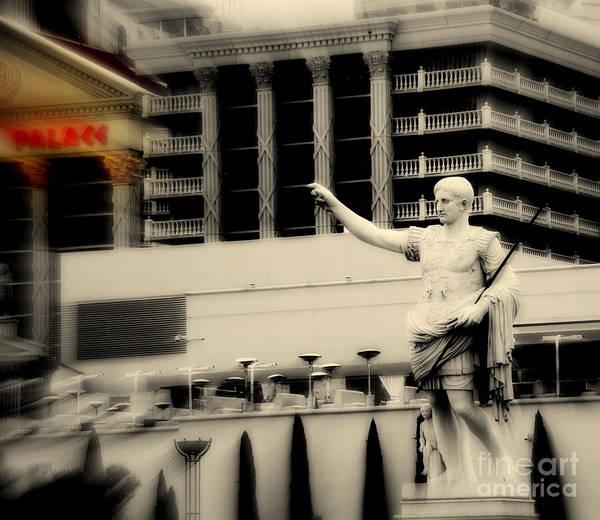Wall Art - Photograph - Caesars Palace In Las Vegas by Susanne Van Hulst