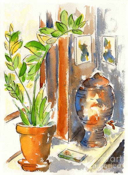 Painting - Cafe Sola by Pat Katz