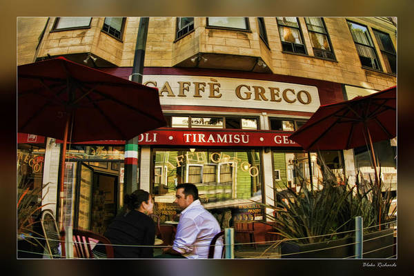 Photograph - Caffe Greco by Blake Richards