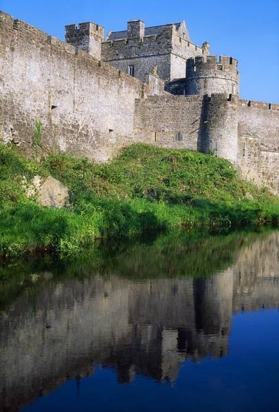 Suir Photograph - Cahir Castle, River Suir, County by The Irish Image Collection
