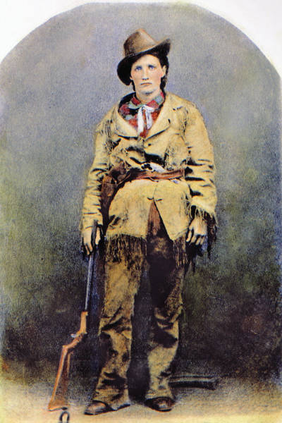 Photograph - Calamity Jane (c1852-1903) by Granger