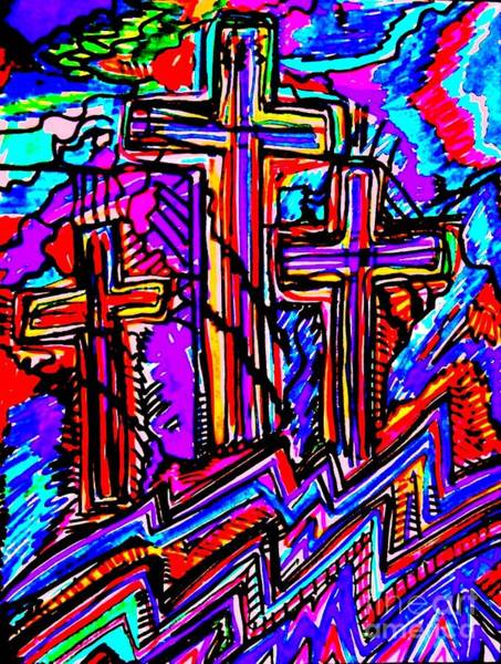 Sax Painting - Calgary by Darlyne Sax