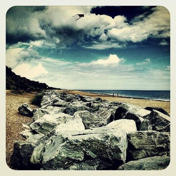 Norfolk Photograph - California Cliffs #stones #summer by Invisible Man