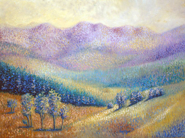 Painting - California Pleasant by Lynn Buettner