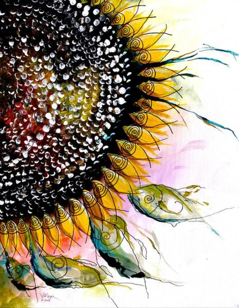 Painting - California Sunflower by J Vincent Scarpace