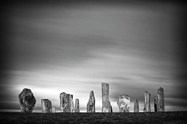 The Past Photograph - Callanish Standing Stones by Doug Chinnery
