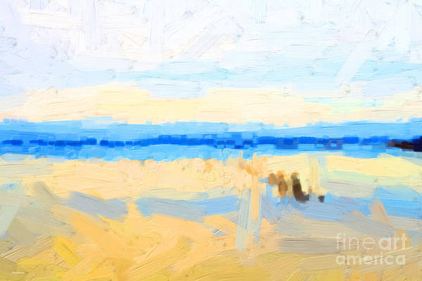 Photograph - Calm Morning Waters In Abstract by Wingsdomain Art and Photography