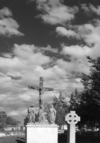 Photograph - Calvary by HW Kateley