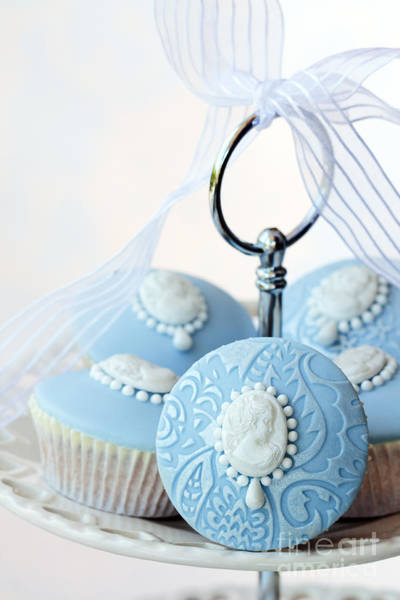 Fairy Cake Wall Art - Photograph - Cameo Cupcakes by Ruth Black