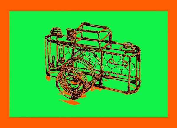 Pyrography - Camera 1c by Mauro Celotti