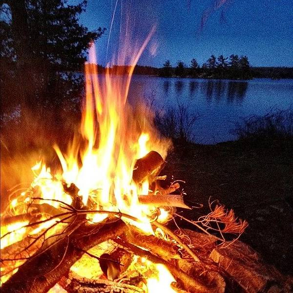 Wall Art - Photograph - Campfire by Christopher Campbell