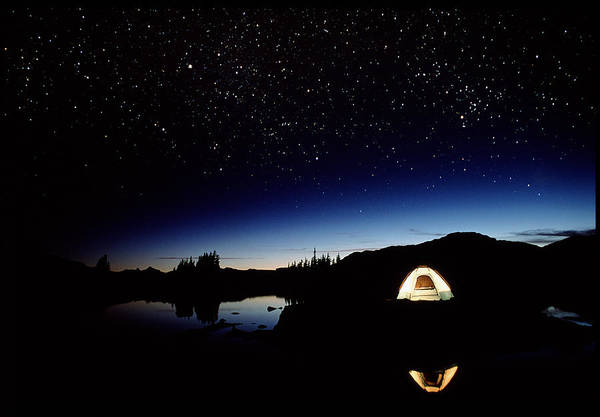 Camping Wall Art - Photograph - Campsite In Canada by David Nunuk