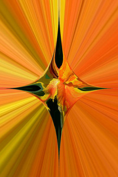 Cana Lily In Hyperdrive Art Print