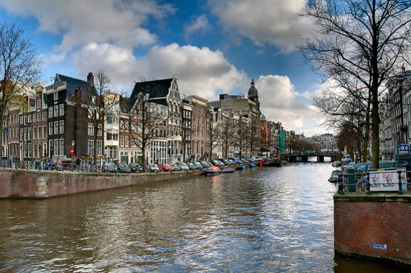 Houseboat Photograph - Canal. Amsterdam by Juan Carlos Ferro Duque