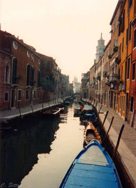 Photograph - Canal Boats by C Sitton