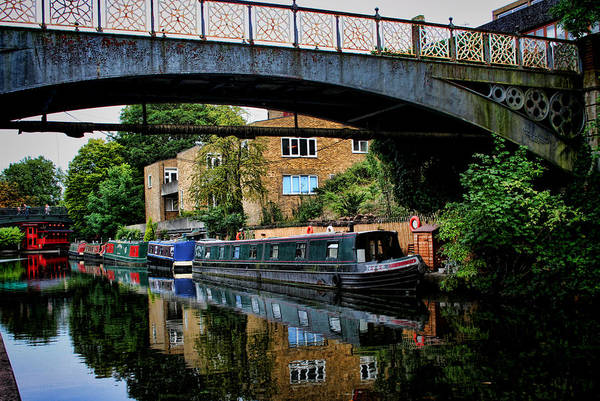 Photograph - Canal Boats by Heather Applegate