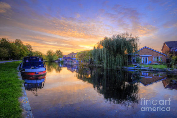 Photograph - Canal Sunrise by Yhun Suarez