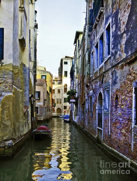 Houses Wall Art - Photograph - Canal View In Venice 1 by Madeline Ellis