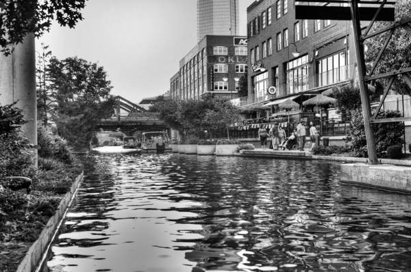 Okc Photograph - Canal Visitors by Ricky Barnard